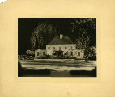 Administration Building, possibly architectural model