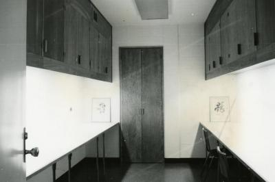 Sterling Morton Library, basement, photography room
