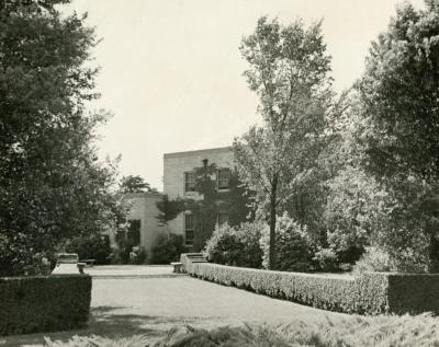 Administration Building, back view
