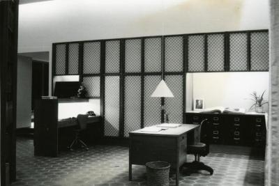 Sterling Morton Library, reading room, northwest corner
