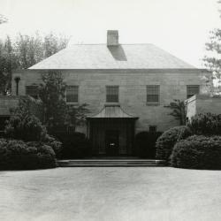 Administration Building, front entrance