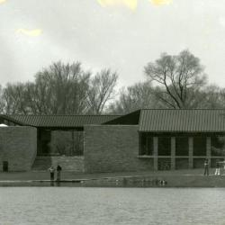 Visitor Center and Restaurant, facing Meadow Lake