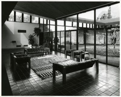 Visitor Center lounge