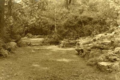 Morton Residence Grounds at Thornhill, rock garden