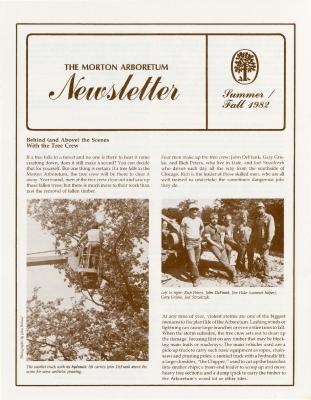 The Morton Arboretum Newsletter, Summer/Fall 1982