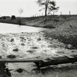 Rapids built in DuPage River to raise water level in Lake Jopamaca
