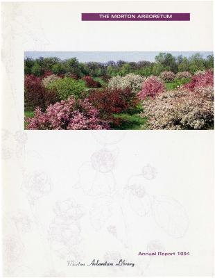 The Morton Arboretum Annual Report, 1994