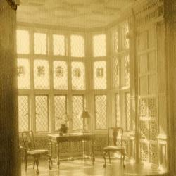 Morton Residence at Thornhill, library bay and windows