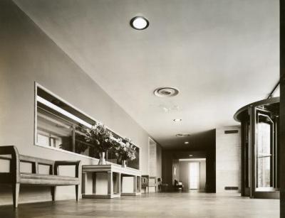 Thornhill Education Center, reception hall