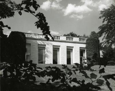 Thornhill Education Center, back exterior