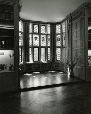 Founder's Room historic windows bay