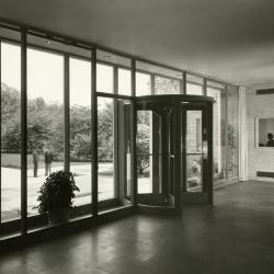 Thornhill Education Center, entrance, interior view