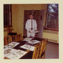 Lowell Kammerer in Herbarium
