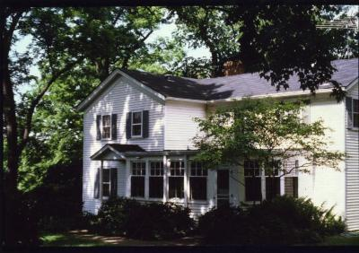 Dr. Marion T. Hall's house at the Arboretum