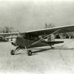 Clarence Godshalk's airplane