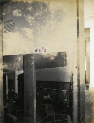 The Morton Arboretum 50th anniversary standalone or traveling exhibit, Sterling Morton Library panel