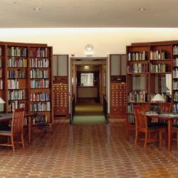 Sterling Morton Library, Reading Room entrance