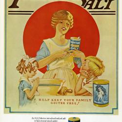 Morton Salt ad no. 6713, Iodized Salt
