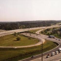 Route 53 Interchange, aerial view