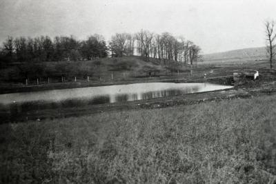 View from Spruce Hill toward Cedar Point and Lake Marmo