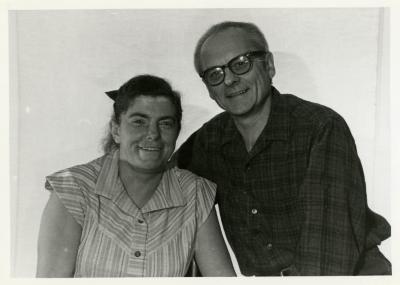 John & Kitty Kohout, portrait