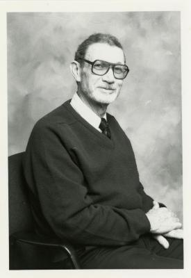 Charles Lewis, seated portrait