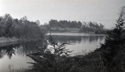Lake Marmo looking east from bottom of Hemlock Hill