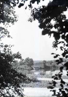 Lake Marmo bridge in the distance