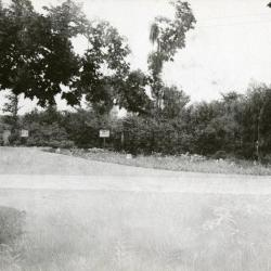 Entrance to Arboretum east side off what is now IL Route 53