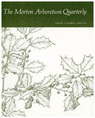 The Morton Arboretum Quarterly V. 11 No. 04