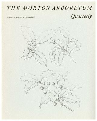 The Morton Arboretum Quarterly V. 01 No. 04