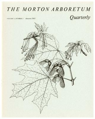 The Morton Arboretum Quarterly V. 01 No. 03