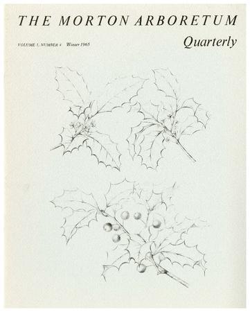 The Morton Arboretum Quarterly V. 01 No. 04