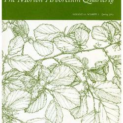 The Morton Arboretum Quarterly V. 10 No. 01