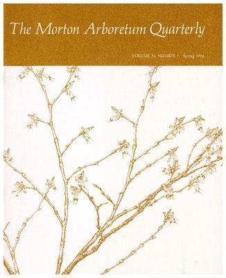 The Morton Arboretum Quarterly V. 12 No. 01