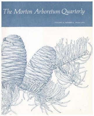 The Morton Arboretum Quarterly V. 10 No. 04