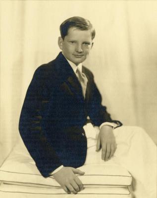 Morton Lattner, grandson of Carl Morton