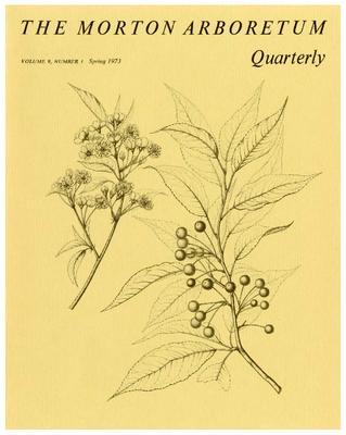 The Morton Arboretum Quarterly V. 09 No. 01