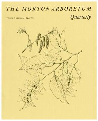 The Morton Arboretum Quarterly V. 07 No. 04