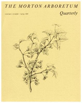 The Morton Arboretum Quarterly V. 05 No. 01