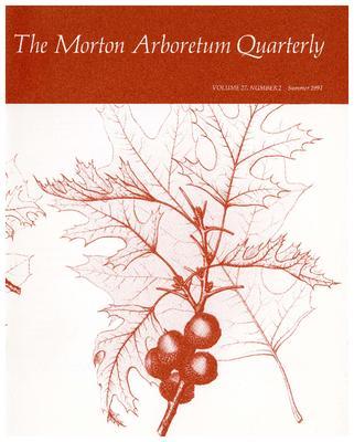 The Morton Arboretum Quarterly V. 27 No. 02