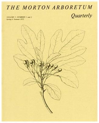 The Morton Arboretum Quarterly V. 07 No. 01-02
