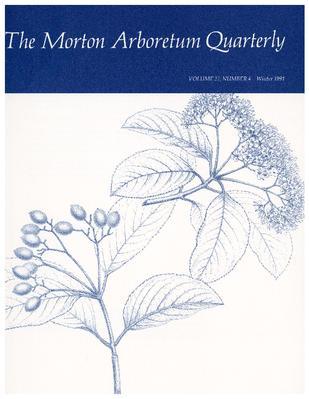 The Morton Arboretum Quarterly V. 27 No. 04