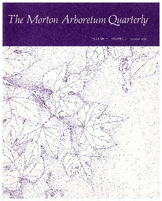 The Morton Arboretum Quarterly V. 19 No. 03
