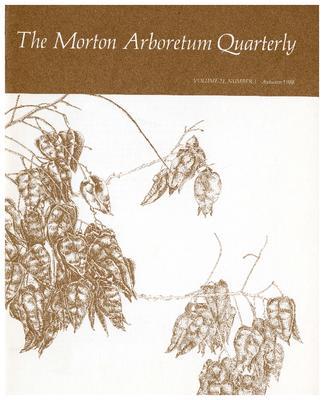 The Morton Arboretum Quarterly V. 24 No. 03