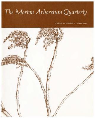 The Morton Arboretum Quarterly V. 19 No. 04