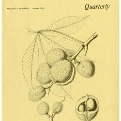 The Morton Arboretum Quarterly V. 06 No. 03