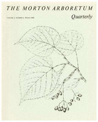 The Morton Arboretum Quarterly V. 02 No. 04