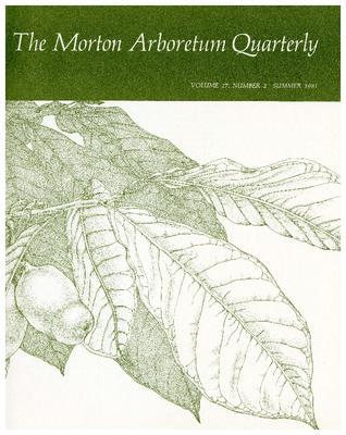 The Morton Arboretum Quarterly V. 17 No. 02