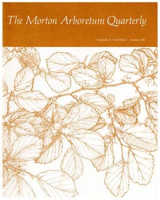 The Morton Arboretum Quarterly V. 23 No. 03